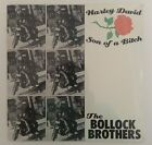 """BOLLOCK BROTHERS harley david son of a bitch 12"""" Record SEALED RARE MINT!"""