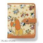 Disney Cat Marie Dog 101 Lady Pluto Point Card Case Wallet Purse Japan E4507