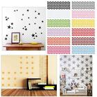 10/20/90pcs Star Wall Sticker For Kids Room Decor Removable Waterproof ofuk