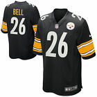 New Le'Veon Bell #26 Pittsburgh Steelers Youth Limited All Sewn Jersey Black