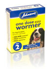 Johnsons+One+Dose+Easy+Wormer+Dog+Worm+Worming+Tablets+Roundworm+Tapeworm