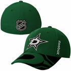 Reebok Dallas Stars Official NHL Draft Structured Flex Hat Cap Msrp $28 FD on eBay