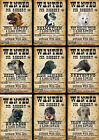 Beware Of The Dog Signs Wanted Various Breeds set2