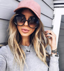 XL OVERSIZED Sunglasses Myrte Women Lady Big Huge Sunnies Gold Edges GAFAS SHADZ