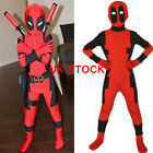 Deadpool Costume X-man Superhero Child Halloween Boy Sets Cosplay  X-man-o