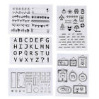 Silicone Clear Stamp Seal Card Making Scrapbooking DIY Diary Album Anniversary