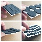 Foam Rubber Pads Floor Protector Furniture Feet Black Self Adhesive Sticky Back