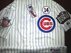 Brand New Addison Russell Chicago Cubs #27 WS Dual patches sewn Majestic Jersey