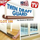Twin Door Doorstop Decor Draft Dodger Guard Stopper Energ...