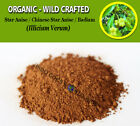 POWDER Star Anise Chinese Star Anise Badiam Illicium Verum Organic Wild Crafted