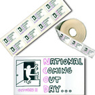 Keith Haring National Coming Out Stickers Labels Bumper Sticker LGBT Gay Pride