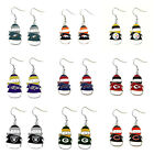 AMINCO NFL Dangle Snowman Earrings PICK YOUR TEAM $7.49 USD on eBay