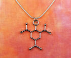Tnt Molecule Necklace, Science Charm Pendant Chemistry Dynamite Stainless Chain