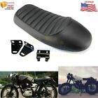 Flat Brat &Hump Saddle Cafe Racer Vintage Seat Cushion For Honda CB Yamaha XJ GN