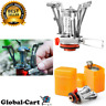 Ultralight Portable Outdoor Backpacking Camping Stoves with Piezo Ignition Orang