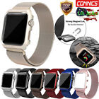 For Apple Watch Series 3/2/1 Milanese Stainless Steel iWatch Band Strap 38/42MM image