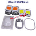 LED COB Grow White Chip+Lens Reflector 50W 30W 20W 110V/220V For LED Flood Light