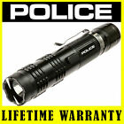 POLICE M12 500 BV Metal Stun Gun Flashlight Rechargeable + Holster Case