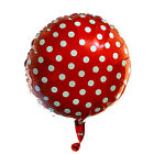 Large Polka Dot Foil Balloons Helium Valentines Wedding Party Baloons BALONS