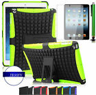 Complete Bundle for Apple Ipad 234 Air/2 & mini 1234 shockproof case cover