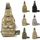 US Mens Cool Canvas Camo Military Messenger Shoulder Travel Bags Hiking Backpack