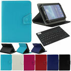 "For Amazon Kindle Fire 7"" Tablet Bluetooth Keyboard Universal Stand Case Cover"