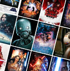 STAR WARS MOVIE POSTERS Prints - A4 A3 A2 - Wall Art - 48 Designs £7.49 GBP on eBay