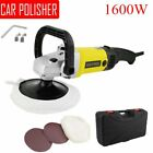 """New 7"""" Electric 6 Variable Speed Car Polisher Buffer Waxer Sander Detail Boat QU"""