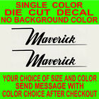 (2x)-maverick Boats Die Cut Vinyl Decal Truck Window Boat Sticker Reproduction