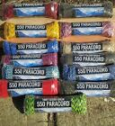 550 PARACORD 100ft Parachute Cord Crazy Camouflage Patterns Survival Rope