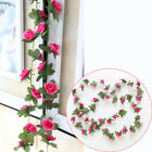 8ft Artificial Ivy Vine Hanging Garland Wedding Party Home Decor Fake Flower