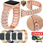 Apple Watch Stainless Steel Band Rhinestone Diamond  iWatch Strap Series 1 2 3 4 image