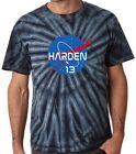 "Tie-Dye James Harden Houston Rockets ""NASA"" T-Shirt on eBay"