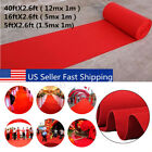 40ft Large Red Carpet Wedding Aisle Floor Runner Hollywood Party Decoration USA