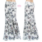Women's LONG SKIRT Skull Rose maxi (S/M/L/XL/1XL/2XL/3XL)