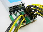 16 Port Breakout Board for HP Delta Server Power Supply GPU Mining + PCIE Cable