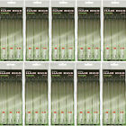 60x Barbless Hair Rigs Carp Coarse Fishing Size 6 8 10  NGT Tackle 12lb Braid
