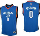Russell Westbrook Youth Blue Oklahoma City Thunder Replica Basketball Jersey