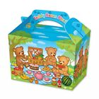 Teddy Bears Picnic Party Food Boxes Birthday Lunch Bag Filler Present Children