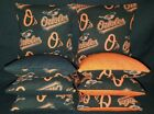 Baltimore Orioles Set of 8 Cornhole Bean Bags FREE SHIPPING on Ebay