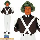 Factory Worker Oompa Loompa Wonka Book Day Adult Mens Fancy Dress Costume