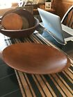 Vintage Reproduction Treen Ware Oval Bowl