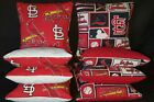 St  Louis Cardinals Set of 8 Cornhole Bean Bags FREE SHIPPING on Ebay