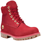 Timberland Mens Limited Release Fire Water 6 Inch Premium Waterproof Boots Red