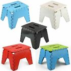 Foldable Step Stool Slip Resistant Home, Garage And Kitchen With Carrying Handle