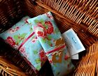 Handmade Microwaveable Heat/Chill Pad/Bag Wheat or Flax - Vintage Rose Gift Set