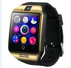 Smart Watch Bluetooth Camera Support For Android Phones With Sim Card Slot New
