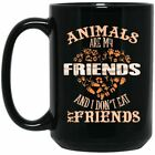 Vegan Mug - Animals Are My Friends And I Don't Eat My Friends, Vegan Gifts