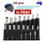 16 Tips Head DC Power Charger Adapter Connector for Laptop PC Noteboook NEW BO
