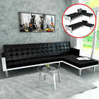 vidaXL Sofa Day Bed Lounge Suite Chaise Reclining Futon Couch L-shape 2 Colors